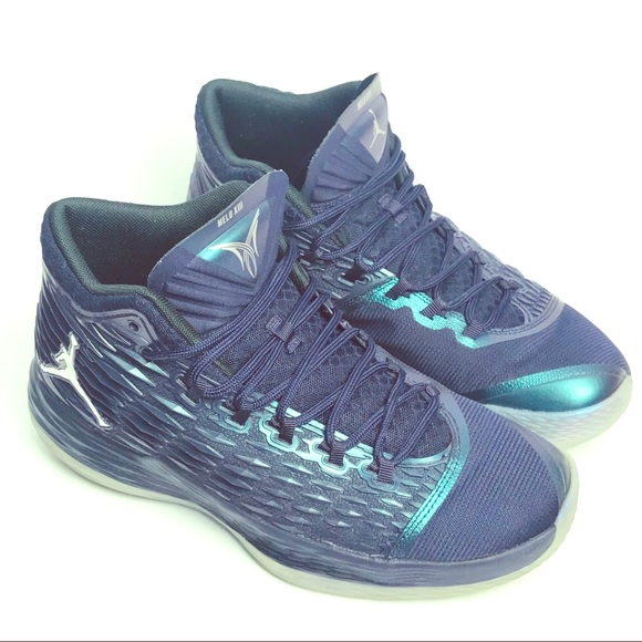 14b853636e7 Jordan Shoes | Nike Melo M13 Sneakers Purple Silver Sz 9 | Poshmark
